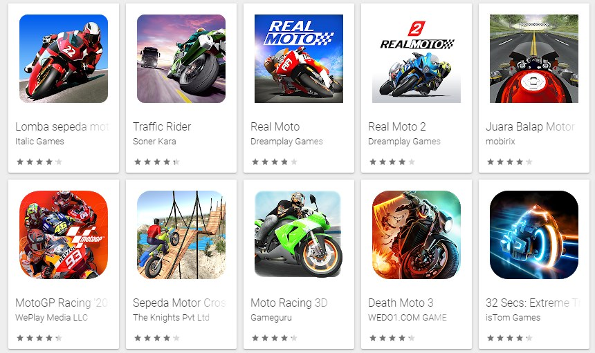 Game Motor Android
